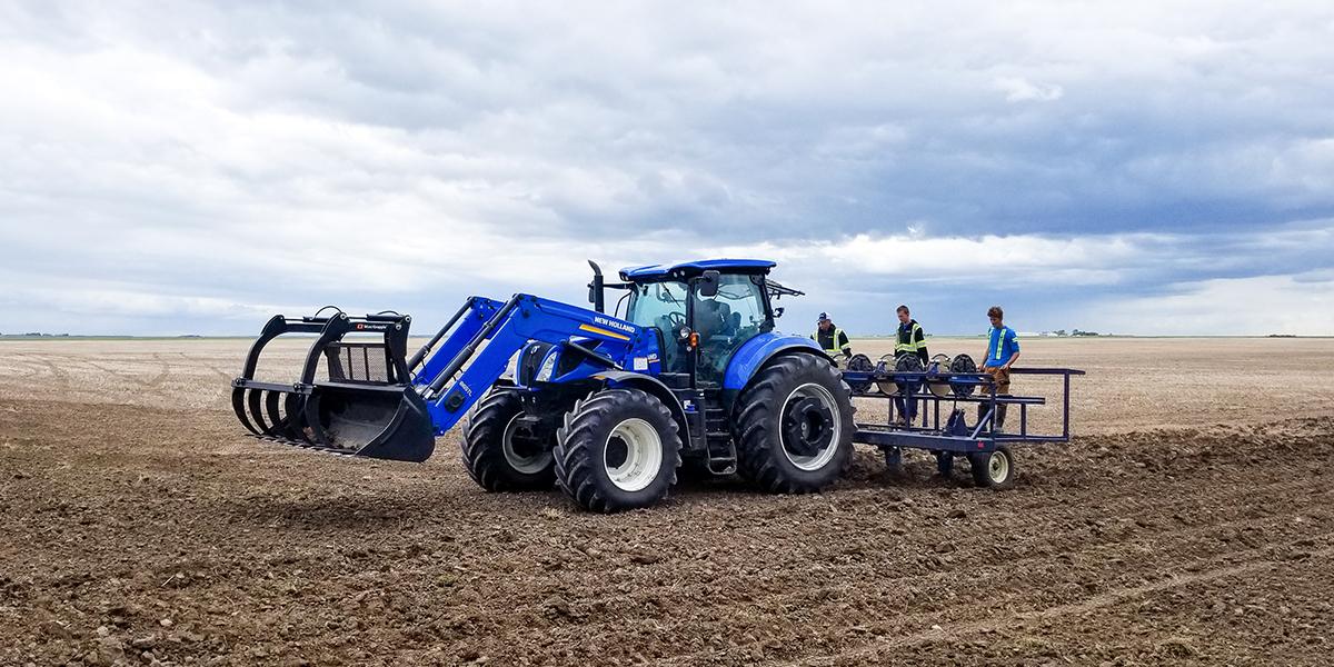 plowing drip line sdi